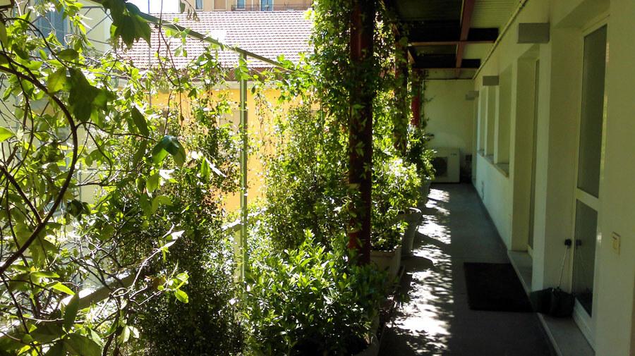 Garden Angel | Terrazzo in Via Lomazzo Milano